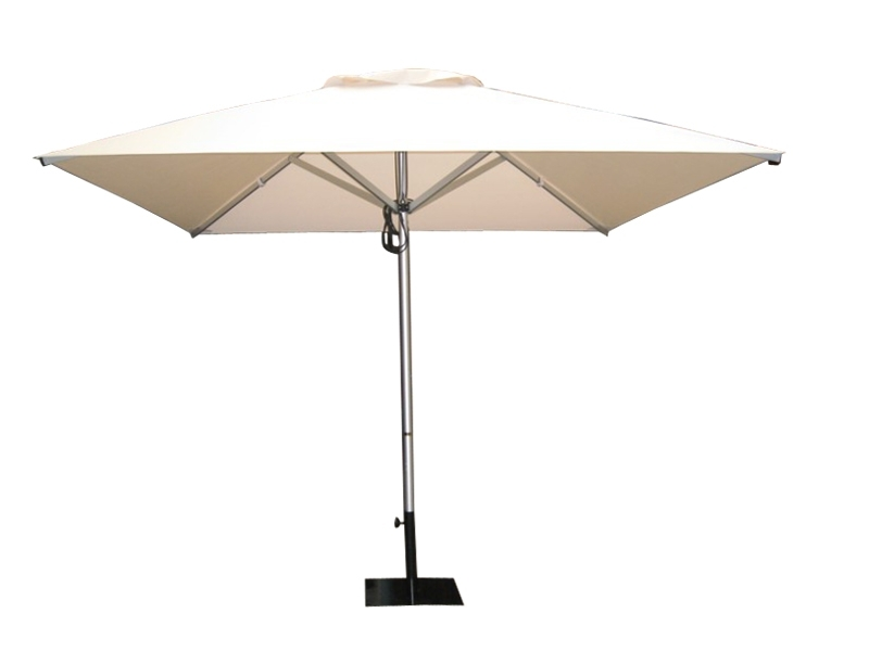 Well Liked Aluminium Outdoor Umbrella,3M Square Outdoor Umbrella,3M Aluminium For Square Patio Umbrellas (View 1 of 15)