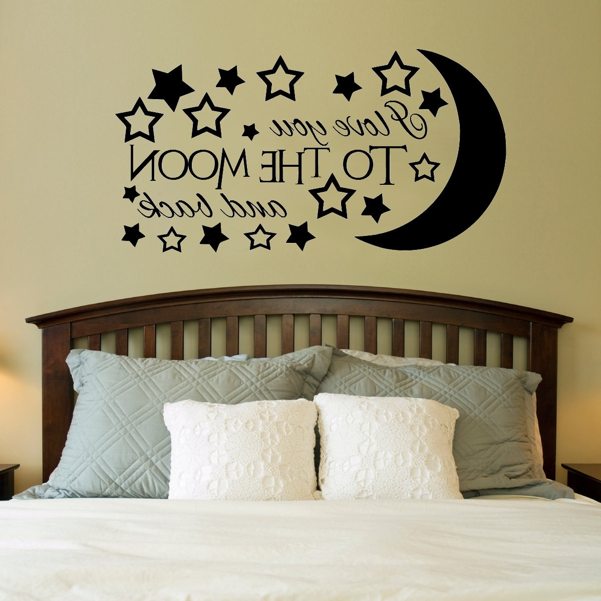 Well Liked I Love You To The Moon And Back Wall Art – Fallow In I Love You To The Moon And Back Wall Art (View 4 of 15)