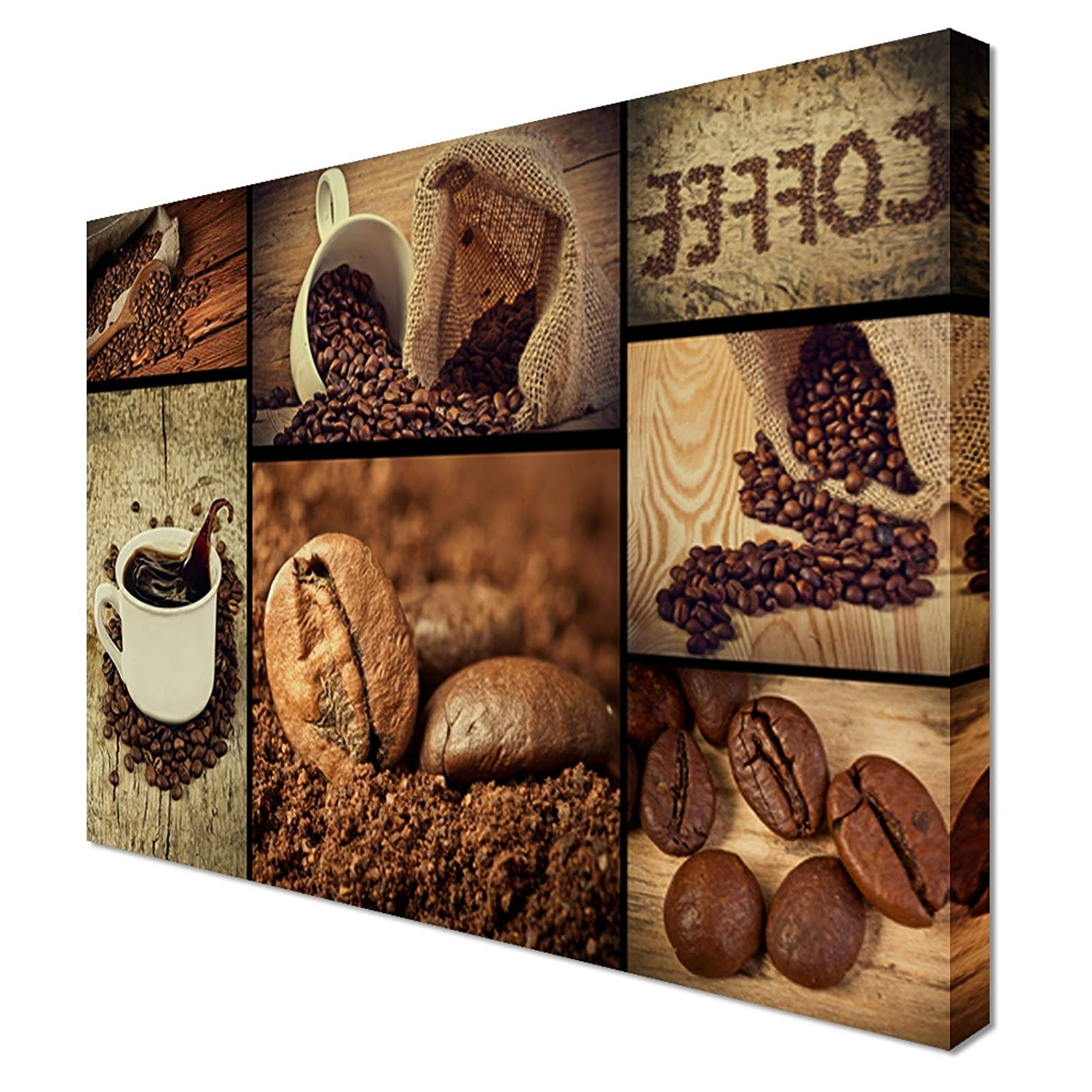 Well Liked Kitchen Canvas Wall Art Inside Coffee Shop Food Kitchen Canvas Art Cheap Wall Art Print – Home (View 4 of 15)
