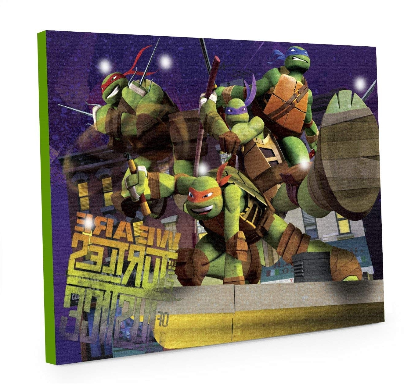 Well Liked Nickelodeon Teenage Mutant Ninja Turtles – Decor Intended For Ninja Turtle Wall Art (View 12 of 15)
