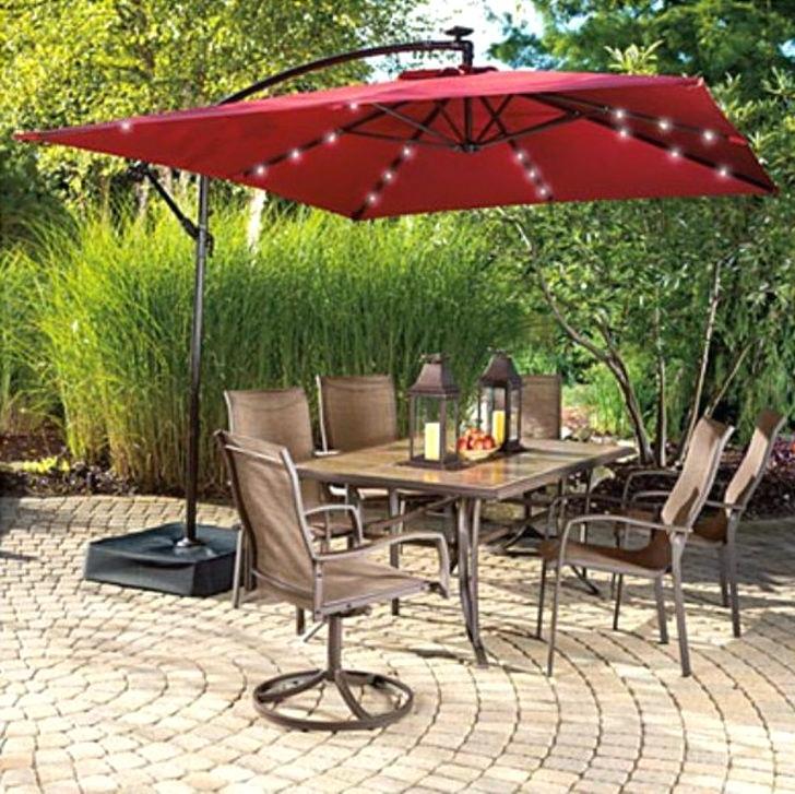 Well Liked Rectangular Offset Patio Umbrellas In Offset Patio Umbrellas – Mediagreen (View 5 of 15)