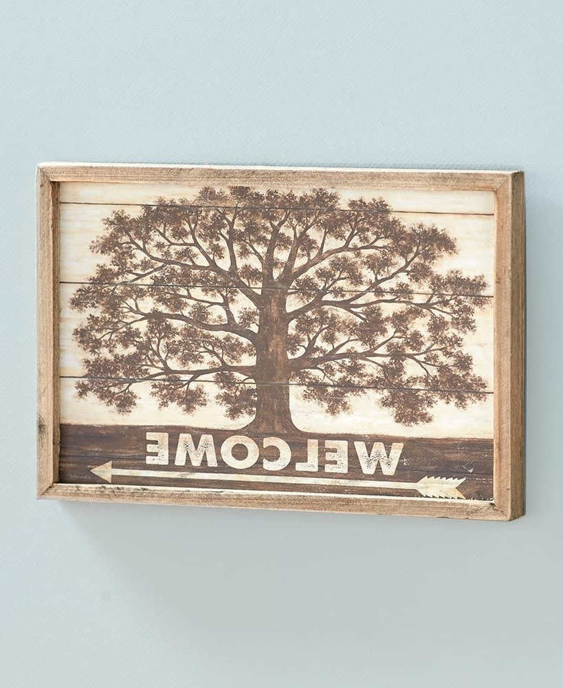 Well Liked Shade Tree Country Wall Art For Country Wall Art (View 12 of 15)