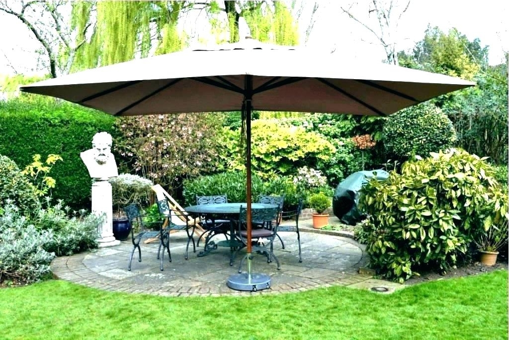 Well Liked Stunning Patio Umbrella Amazon Cool Patio Umbrellas Amazon Unique For Large Patio Umbrellas (View 14 of 15)
