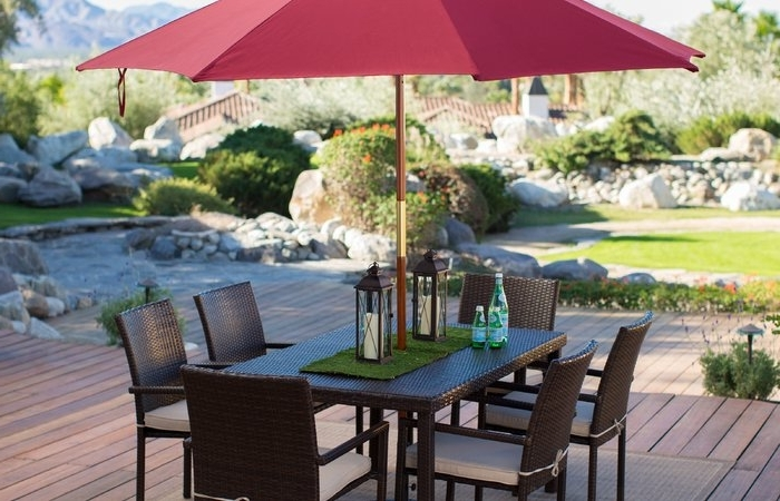 Well Liked Sunbrella Patio Umbrellas At Walmart Within Sunbrella Patio Umbrellas Walmart Bd In Creative Home Design Modern (View 13 of 15)