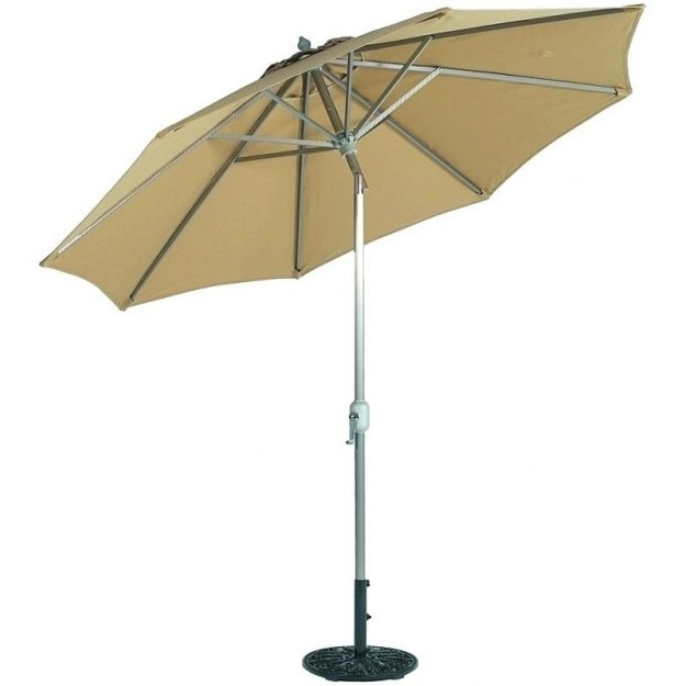Well Liked Tilting Patio Umbrellas Within Tilting Patio Umbrella Tilt Uk Thewinerun Surprising Product (View 10 of 15)