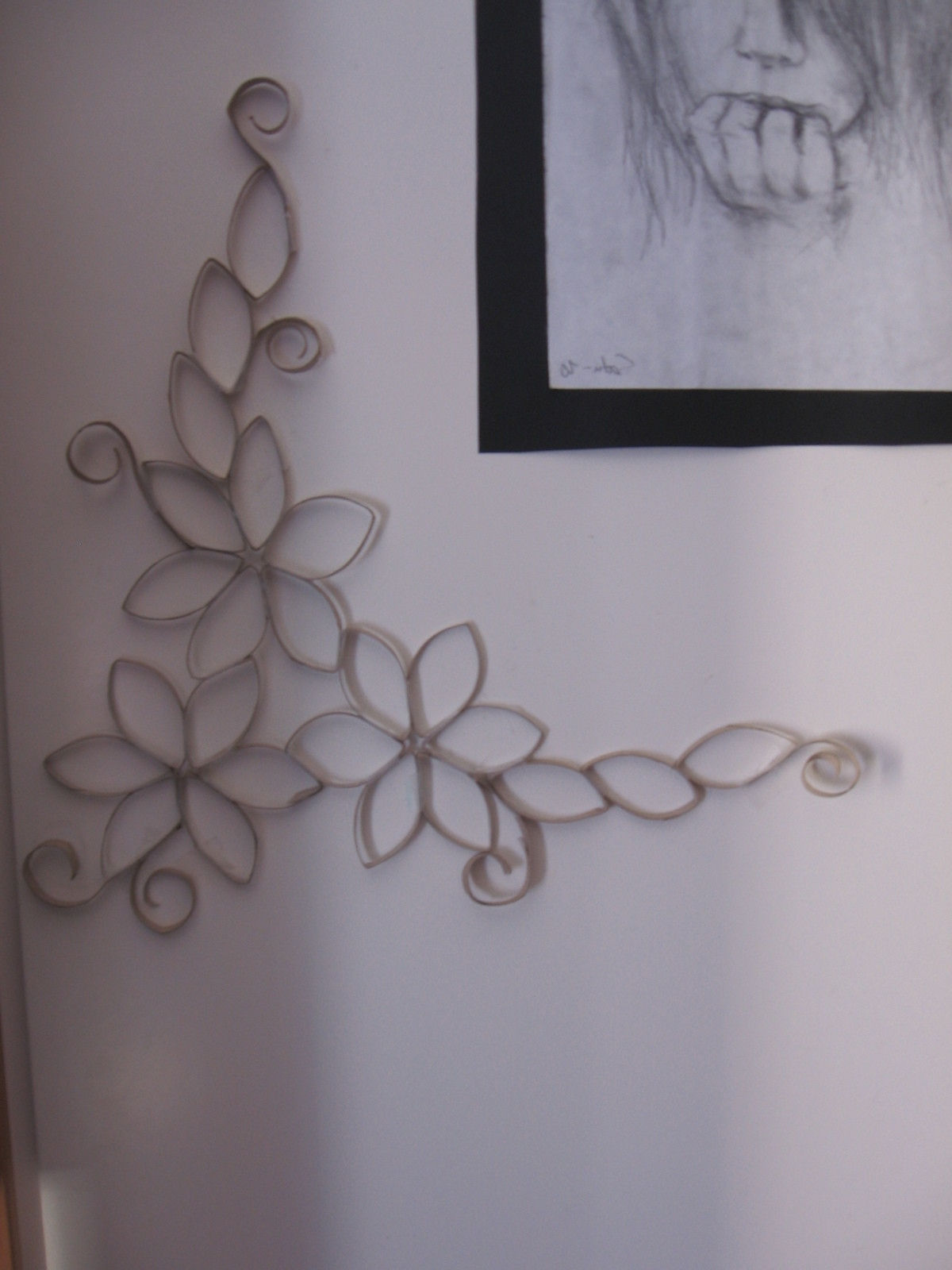 Well Liked Toilet Paper Roll Wall Art In Toilet Paper Roll Wall Art · A Paper Roll Model · No Sew On Cut Out (View 15 of 15)