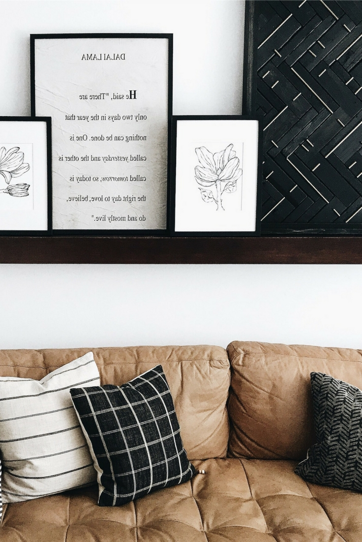 Well Liked West Elm Wall Art Pertaining To Diy West Elm Blackened Wood + Brass Wall Art Hack – Disheveled Delight (View 11 of 15)