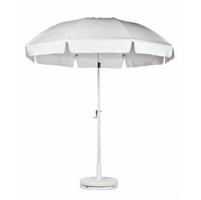 Well Liked White Patio Umbrellas Inside Patio Umbrella Octagon 7.5 Ft (View 6 of 15)