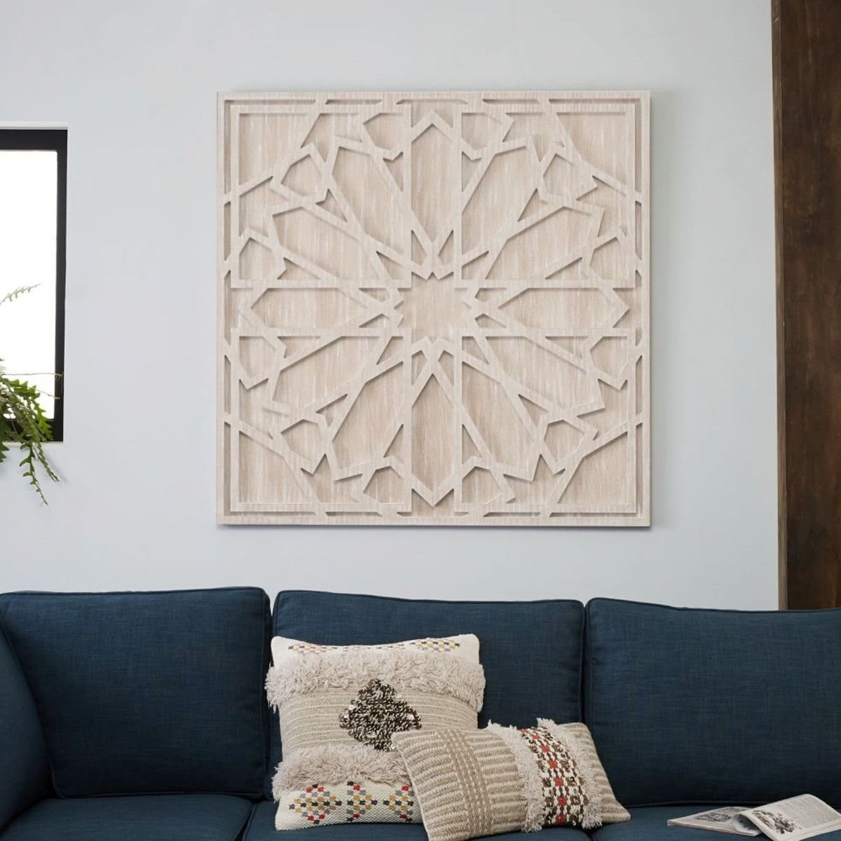 Whitewash Wood, Wood Wall Art And Wood Walls With West Elm Wall Art (View 4 of 15)