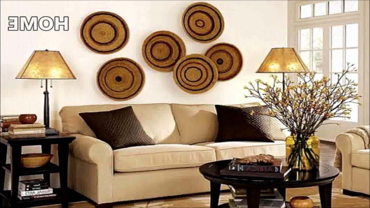 Widely Used 43 Living Room Wall Decor Ideas – Youtube With Regard To Living Room Wall Art (View 3 of 15)