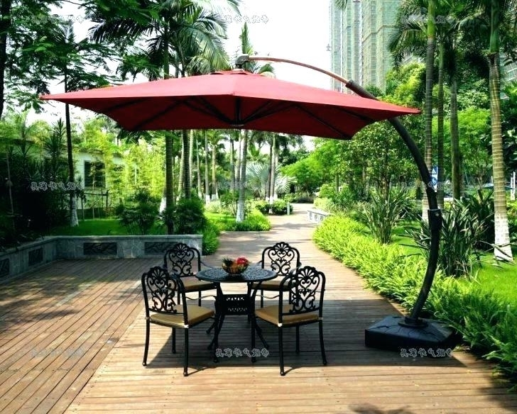 Widely Used Comfortable 6 Ft Patio Umbrella Y3414 Delightful 6 Ft Offset Patio For 6 Ft Patio Umbrellas (View 14 of 15)