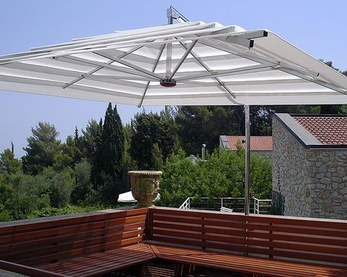 Widely Used Evolution High Wind Speed Patio Umbrellas For Patio Umbrellas For High Wind Areas (View 14 of 15)