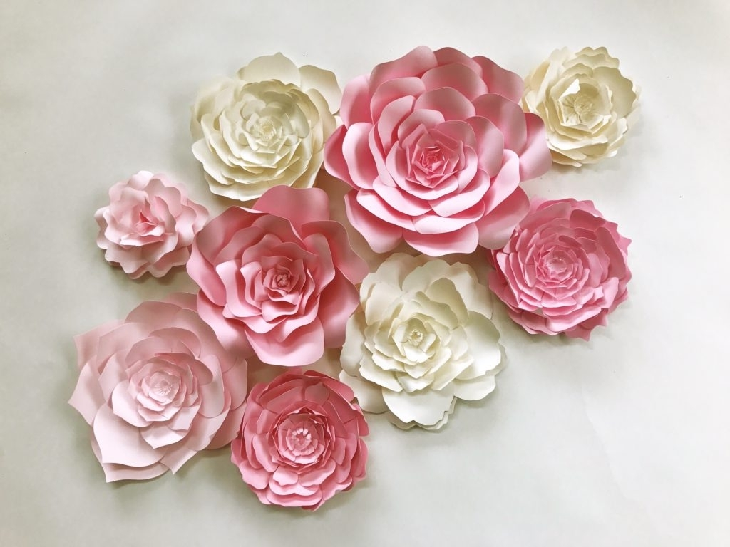 Widely Used Flower Wall Art Within Paperflora (View 14 of 15)