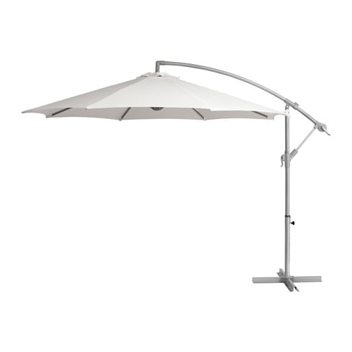 Widely Used Ikea Patio Umbrellas Regarding Baggön Offset Patio Umbrella – Ikea (View 14 of 15)