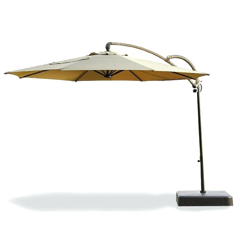 Widely Used Kohls Patio Umbrellas Within Good Kohls Patio Umbrella Or Canopy For Essential Garden Offset (View 6 of 15)