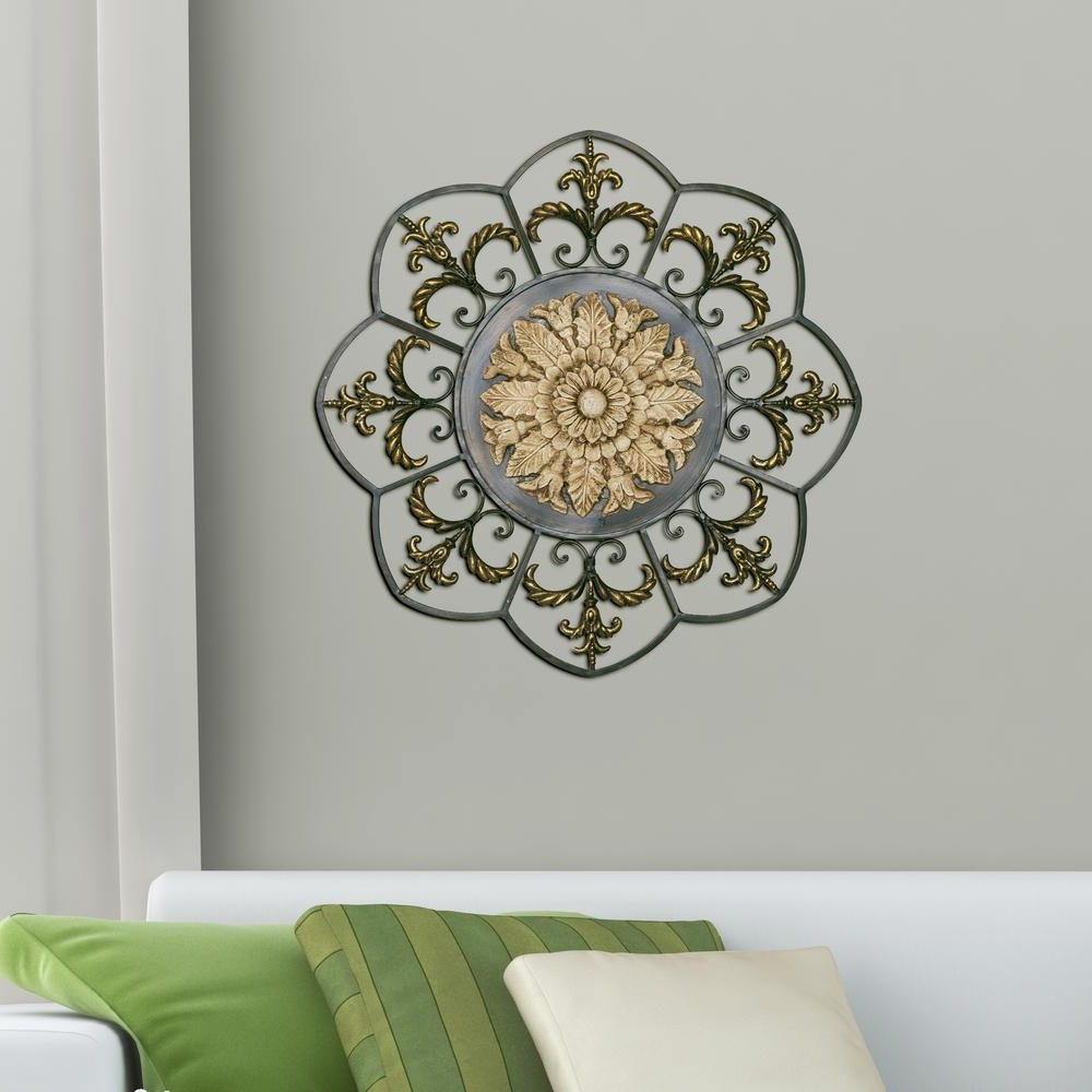 Widely Used Medallion Wall Art For Antique Gold Medallion Cute Medallion Wall Art – Prix Dalle Beton (View 13 of 15)