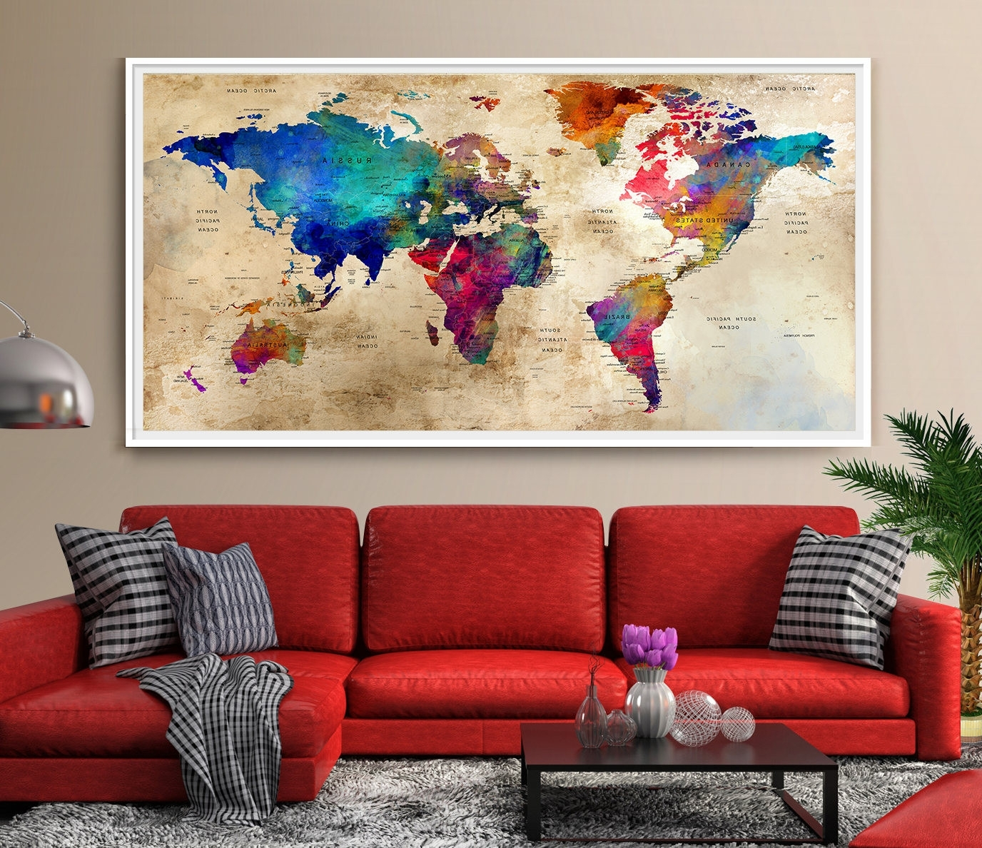 Widely Used Modern Wall Art Decors For Wall Decoration Colorful Art Paintings For Home Decor Living Design (View 12 of 15)