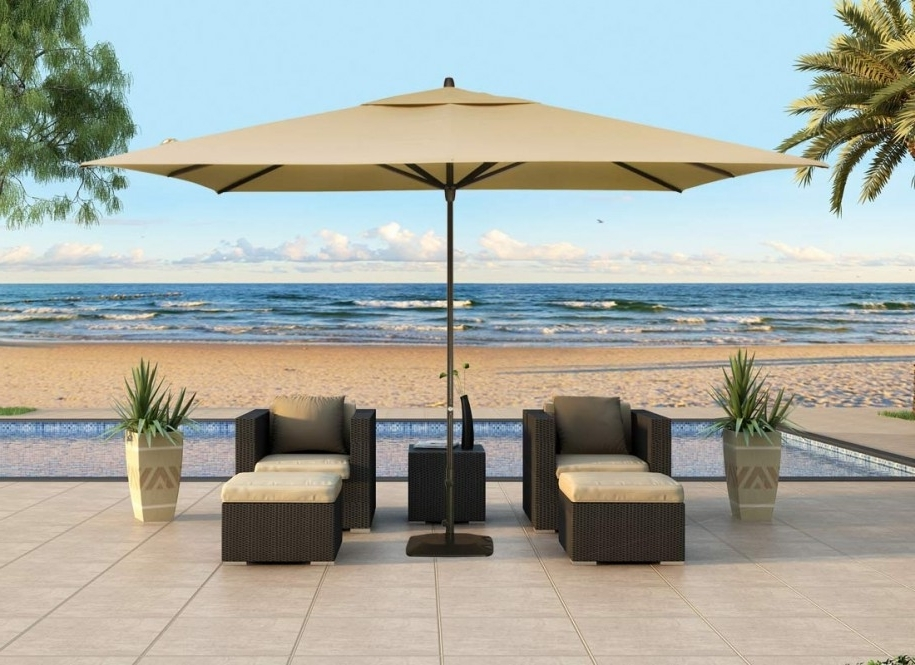 Widely Used Patio Sets With Umbrellas Pertaining To Elegant High End Outdoor Umbrellas Kmart Patio Furniture As Patio (View 15 of 15)