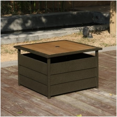 Widely Used Patio Umbrella Stand Side Table » Charming Light Multi Purpose Patio For Patio Umbrella Side Tables (View 6 of 15)
