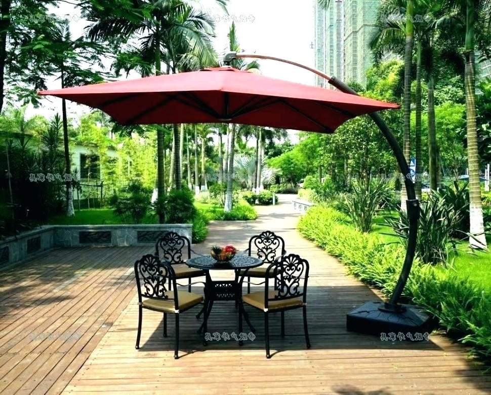 Featured Photo of Patio Umbrellas With Wheels