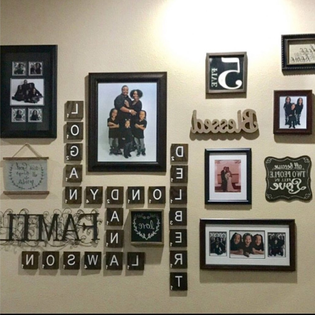 Widely Used Scrabble Wall Art With Sofa Ideas (View 4 of 15)