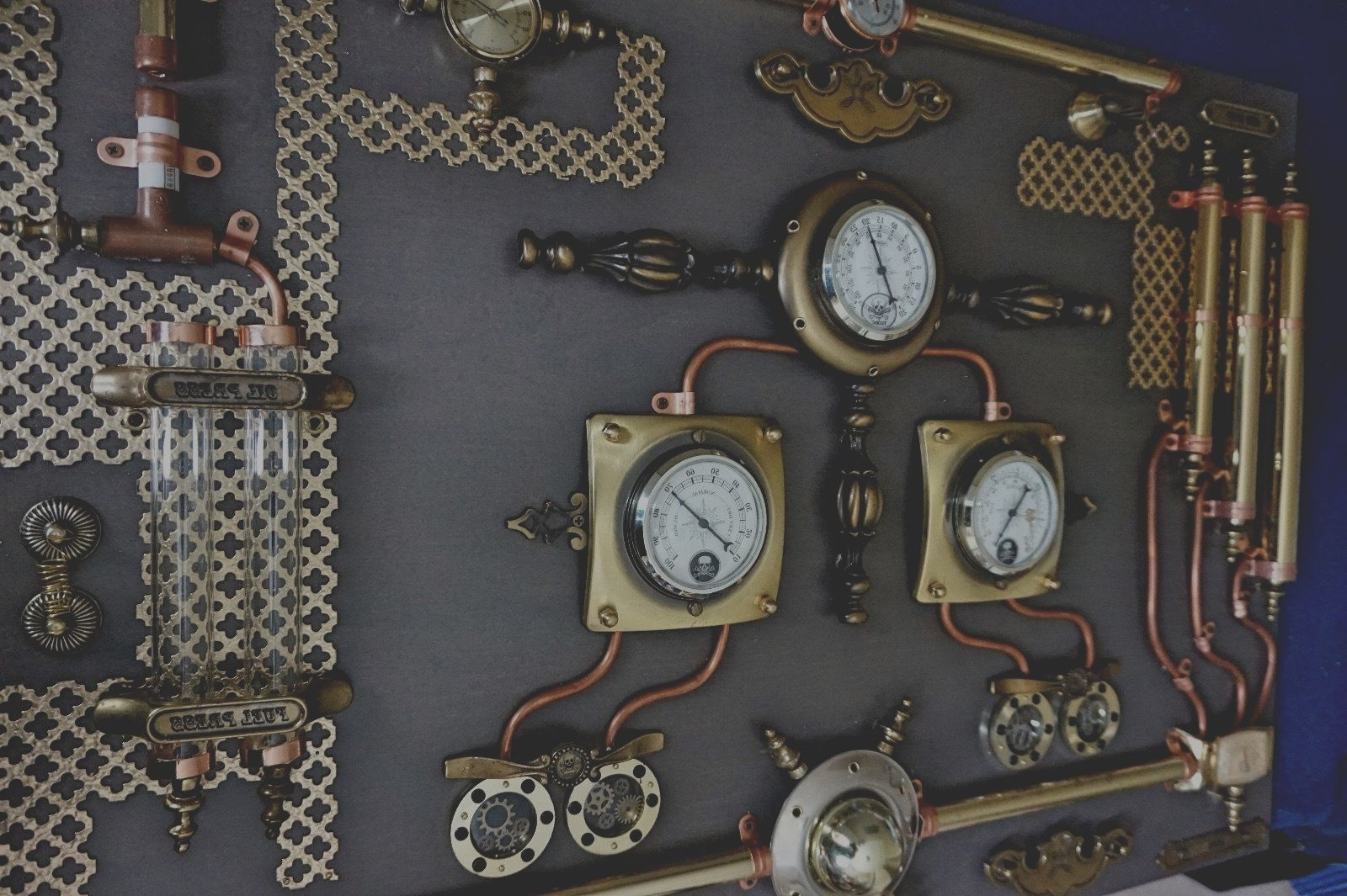 Widely Used Steampunk Wall Art For Abstract Industrial Art.control Panel (View 11 of 15)