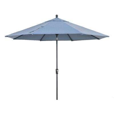 Widely Used Sunbrella Fabric – Home Decorators Collection – Patio Umbrellas For Custom Sunbrella Patio Umbrellas (View 2 of 15)