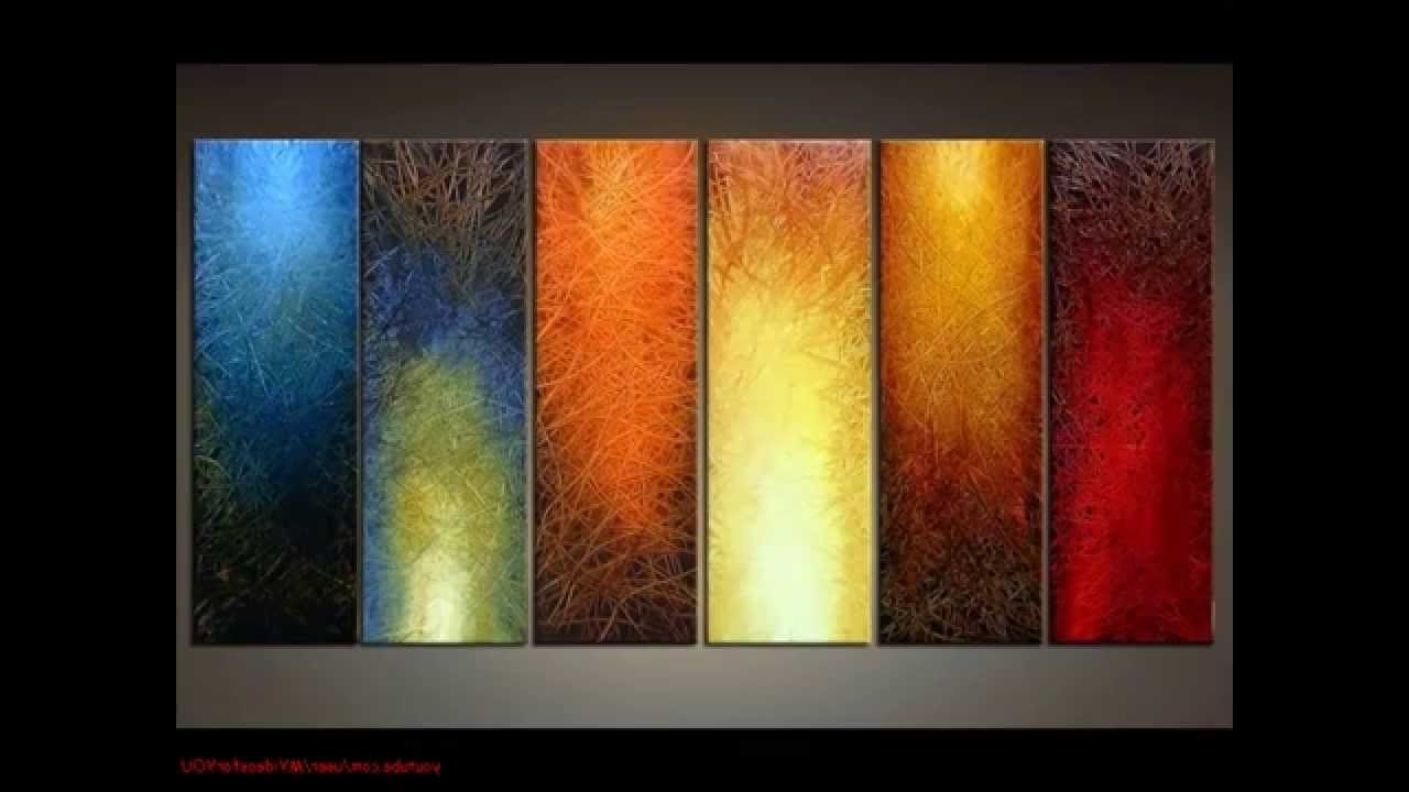 Widely Used Wall Art Paintings For Diy Art Canvas Painting Ideas For Living Room – Youtube (View 4 of 15)