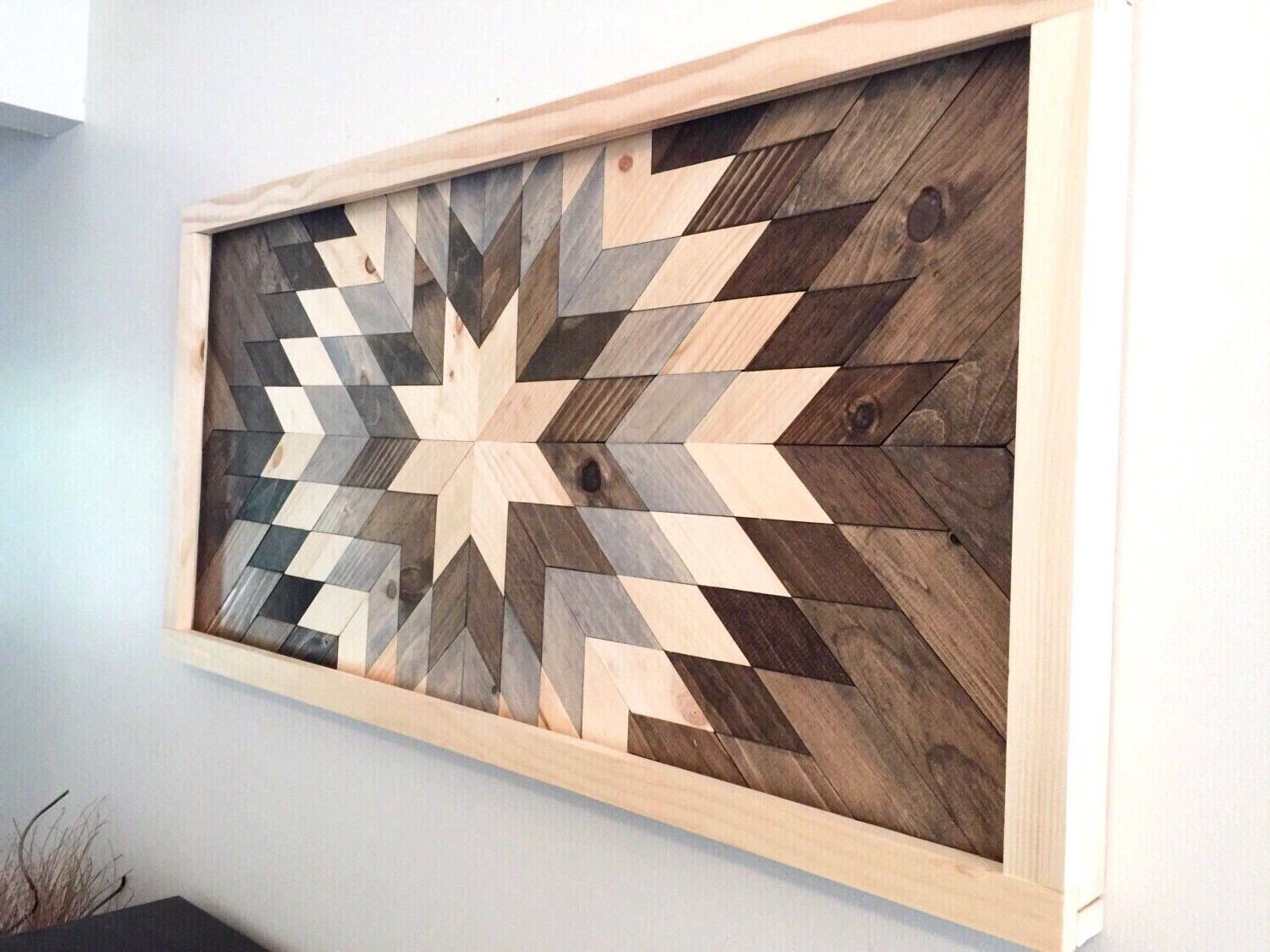 Widely Used Wood Piece Wall Art Wood Wall Art, Wooden Sunburst (View 6 of 15)
