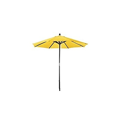 Widely Used Yellow Patio Umbrellas In Amazon : Phat Tommy Deluxe Market Umbrella In Yellow : Patio (View 7 of 15)