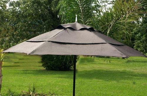 Wind Resistant Patio Umbrella Epic Commercial Wind Resistant Patio Regarding Most Popular Wind Resistant Patio Umbrellas (View 2 of 15)