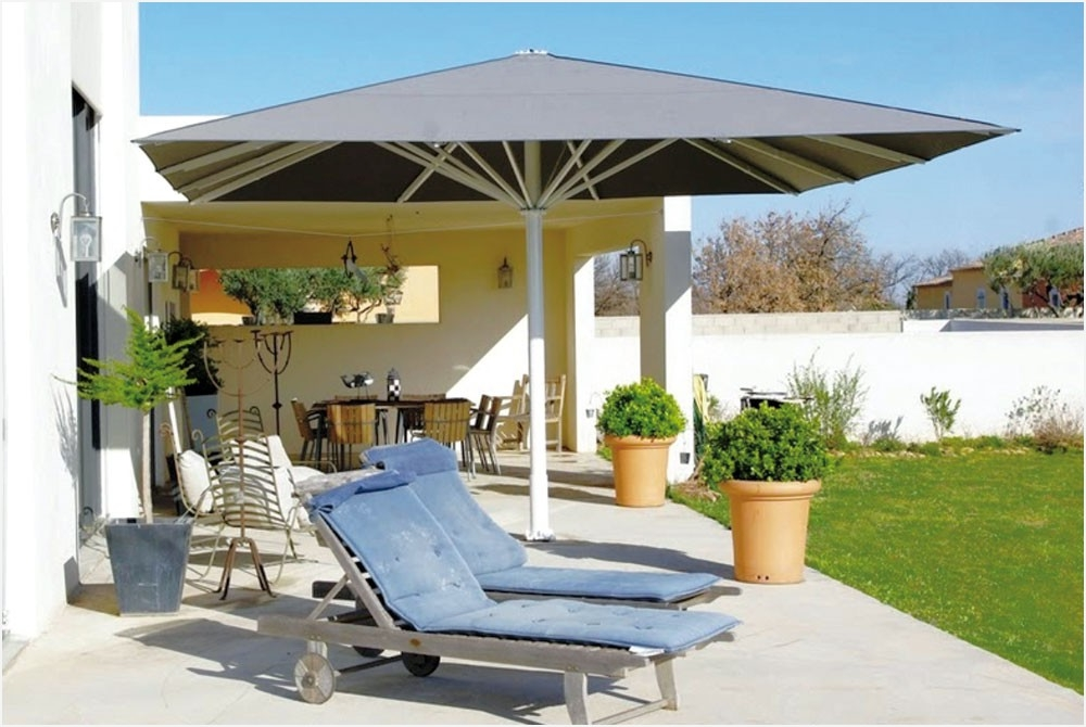 Wind Resistant Patio Umbrella Smartly » Elysee Magazine With Regard To Most Popular Patio Umbrellas For Windy Locations (View 9 of 15)