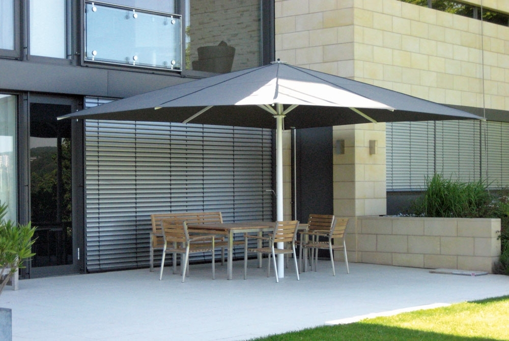 Wind Resistant Patio Umbrellas Inside Well Known Wind Resistant Patio Umbrellas – Windproof Patio Umbrella (View 8 of 15)