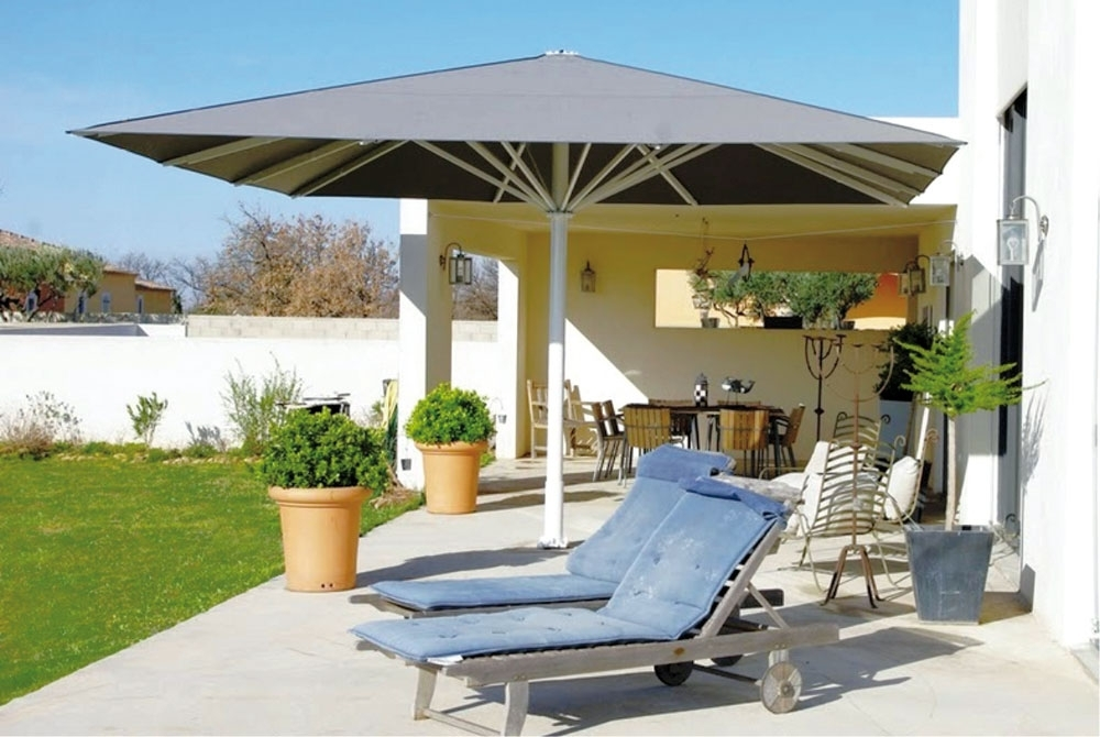 Wind Resistant Patio Umbrellas – Windproof Patio Umbrella Within Fashionable Patio Umbrellas For High Wind Areas (View 15 of 15)