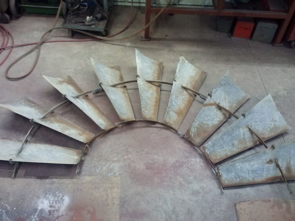 Windmill Wall Art With Regard To Latest Awesome Old Windmill Wheels For Wall Art Paul U Crane Service Pict (View 15 of 15)
