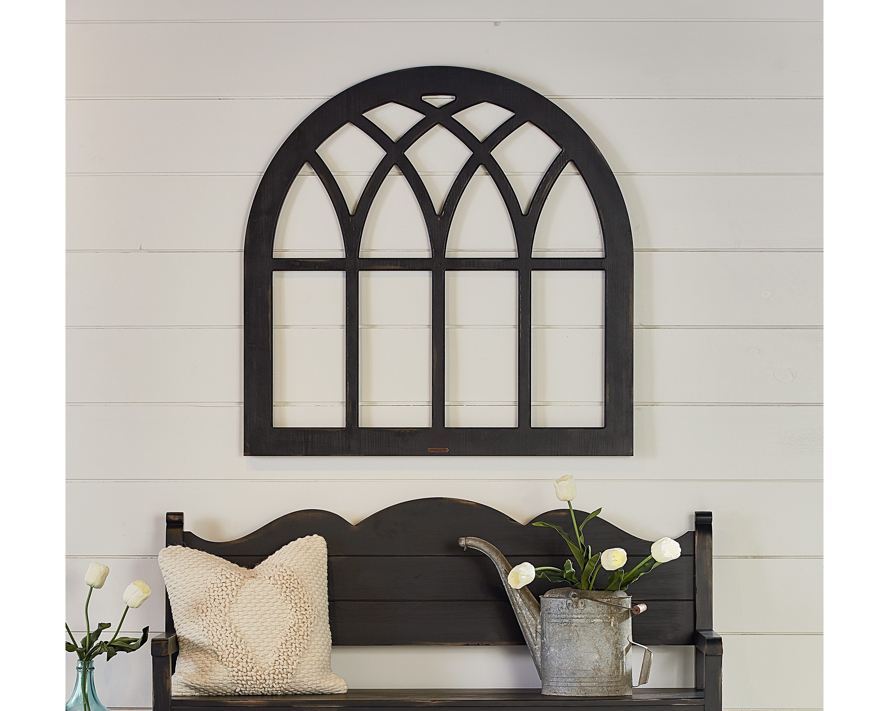 Window Frame Wall Art Intended For Most Up To Date Cathedral Window Frame – Magnolia Home (View 10 of 15)