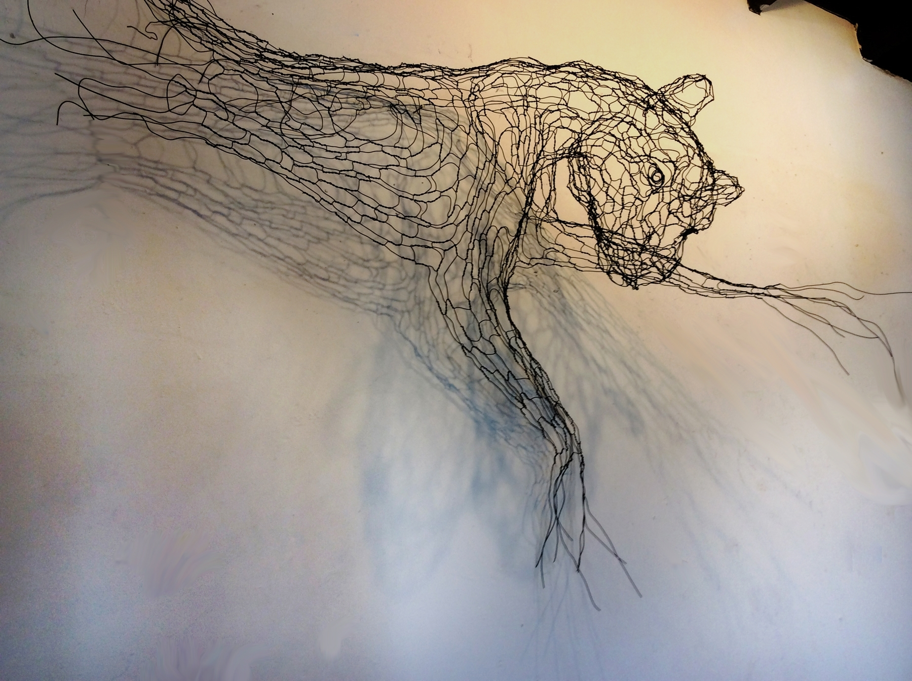Wire Sculpture And Illustration (View 8 of 15)