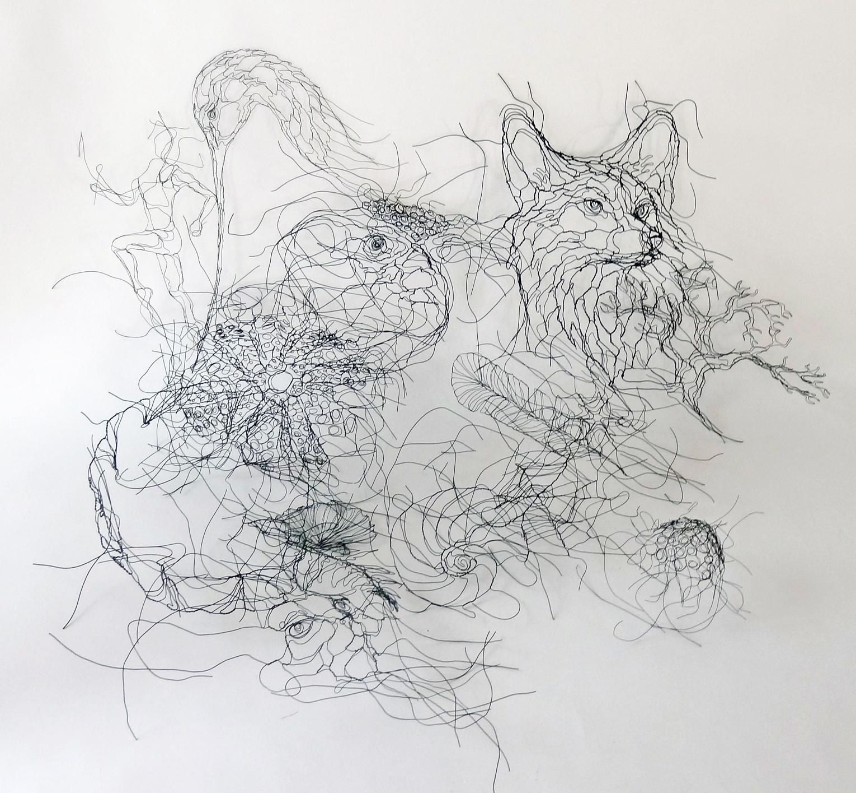 Wire Wall Art With Favorite World Class Wire Sculptureelizabeth Berrien – Home (View 14 of 15)