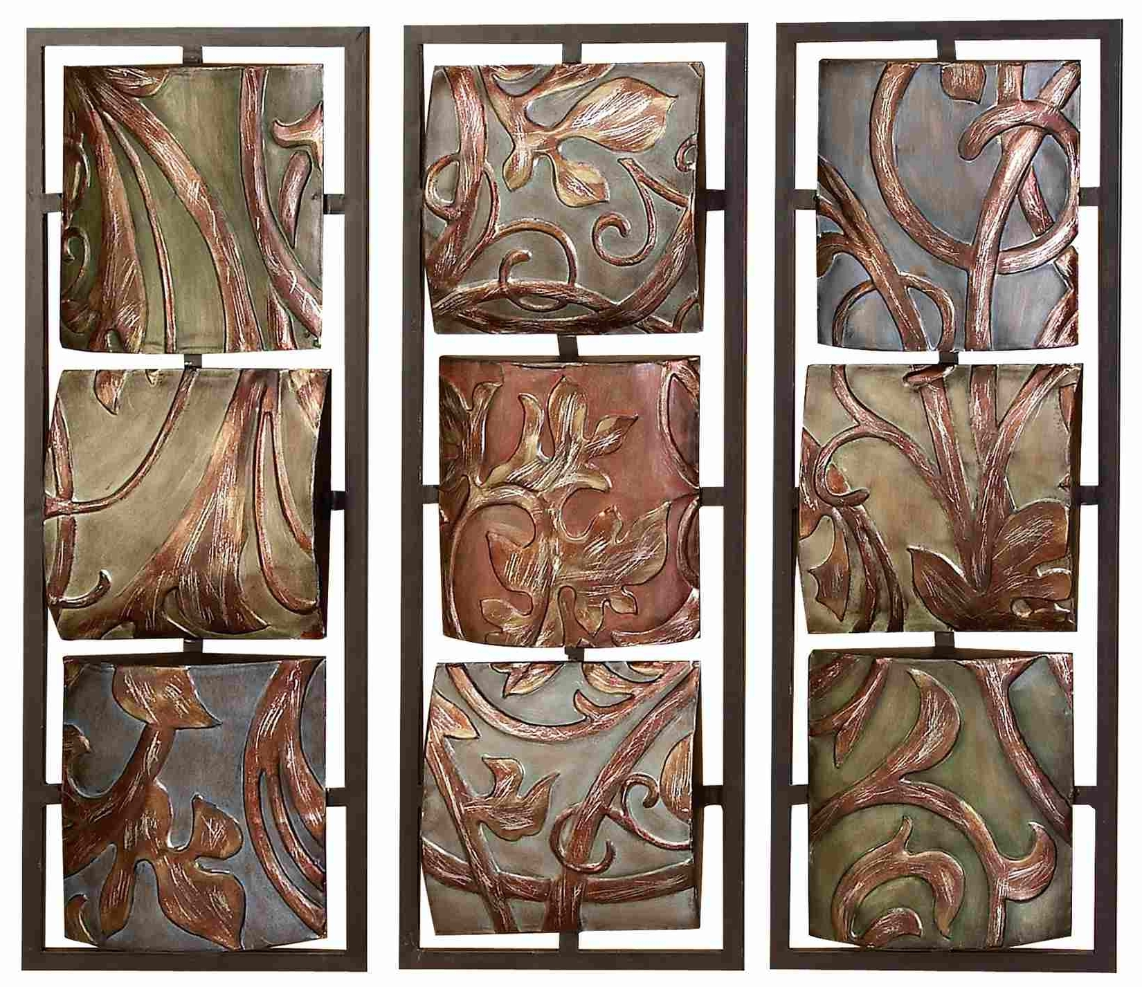 Wood And Metal Wall Art In 2017 Decorative Metal Wall Art Panels – Emiliesbeauty – (View 14 of 15)