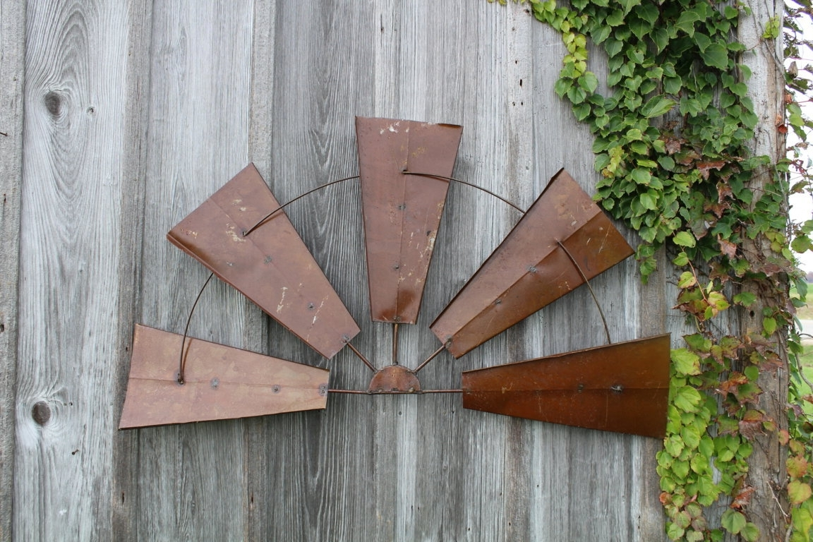 Wood And Metal Wall Art Regarding Fashionable Rustic Metal Wall – Blogtipsworld (View 12 of 15)