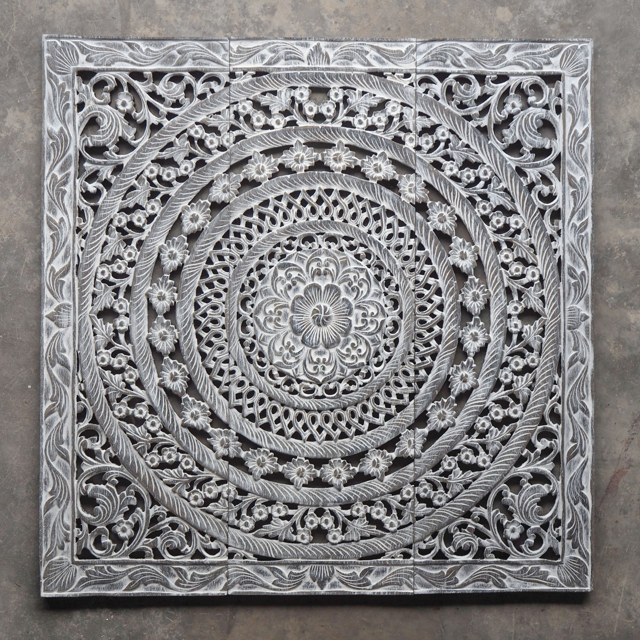 Wood Carved Wall Art Pertaining To Recent Buy Moroccan Decent Wood Carving Wall Art Hanging Online (View 4 of 15)