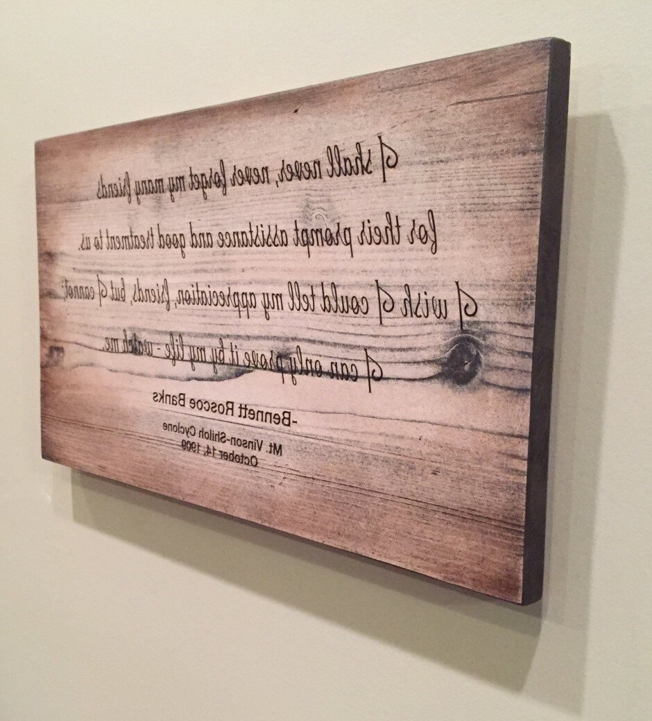 Wood Wall Art Quotes With Regard To Well Known Wood Wall Art Quotes Rumi Quote Art Square Quote Print, Wood Wall (View 11 of 15)