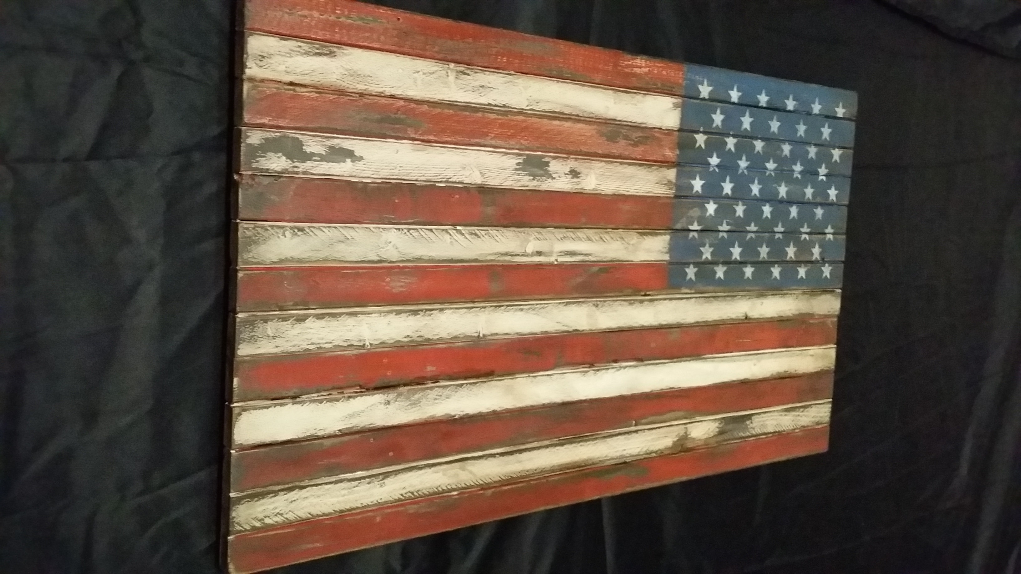 Wooden American Flag Wall Art With Best And Newest Distressed American Flag (View 14 of 15)