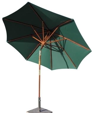 Wooden Patio Umbrellas In Most Recent Patio Umbrella (View 11 of 15)
