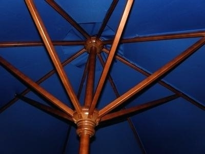 Wooden Patio Umbrellas Intended For Well Known 11 Foot Patio Umbrella 8 X Foot Oval Auto Tilt Patio Umbrella 11 Ft (View 15 of 15)