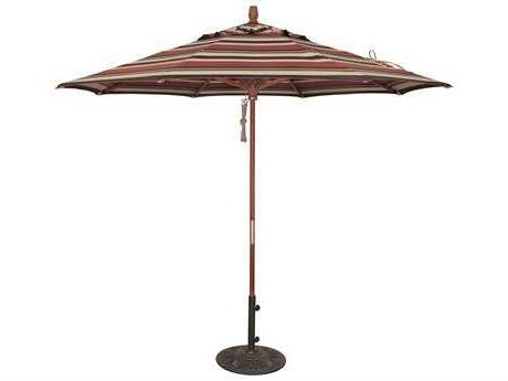 Wooden Patio Umbrellas Regarding Best And Newest Wooden Patio Umbrellas – Patioliving (View 14 of 15)