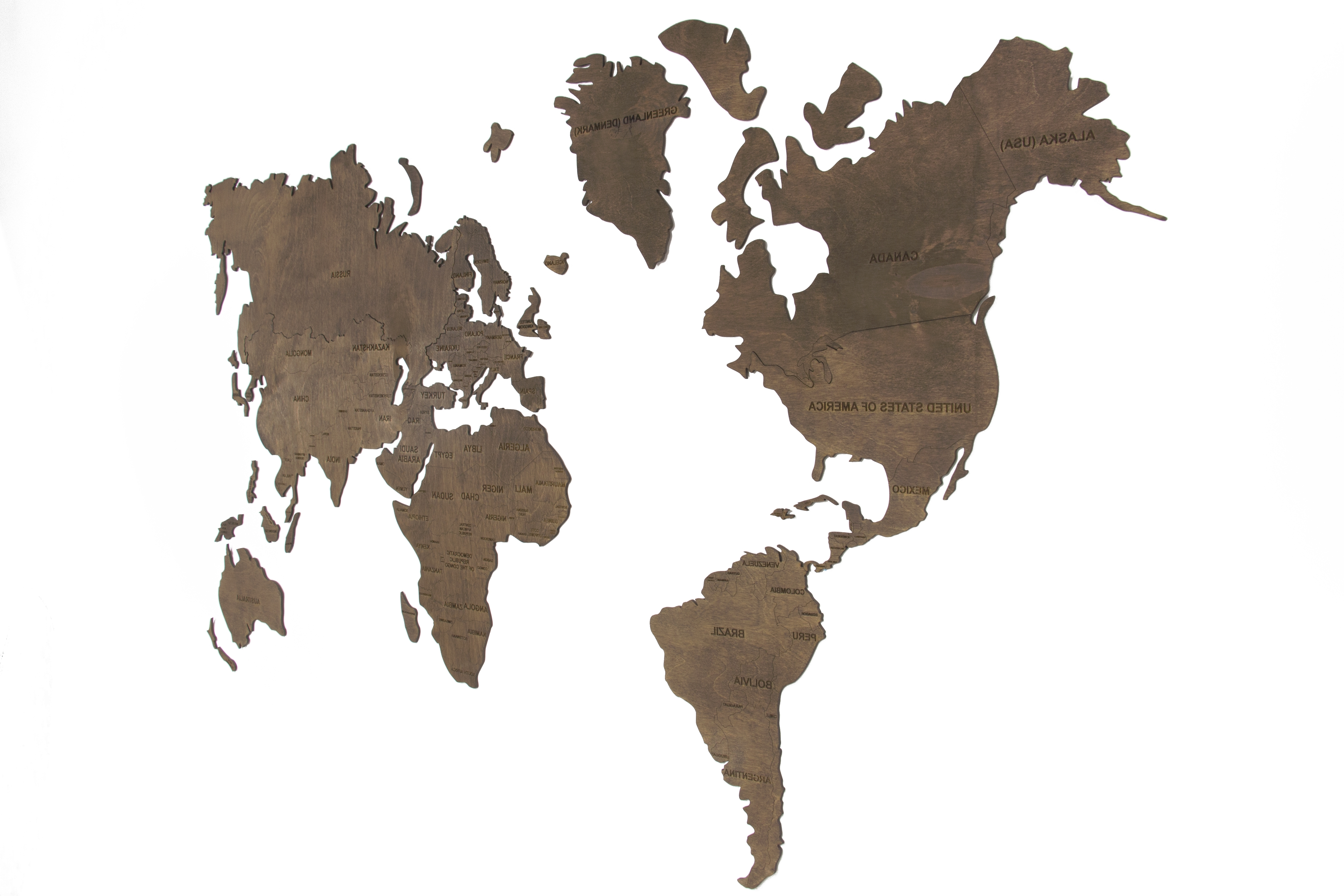 Wooden World Map Wall Art Within Well Known World Map Wall, World Map Hanging, World Map Wooden, World Map Wood (View 15 of 15)
