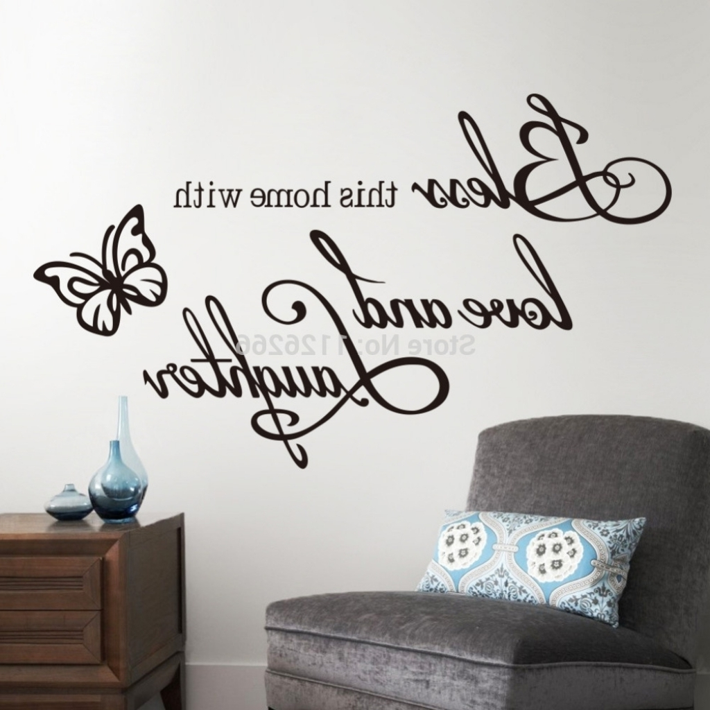 Word Art For Walls Pertaining To 2017 The Stylish As Well Cool Word Art For Walls – Wall Decoration Ideas (View 2 of 15)