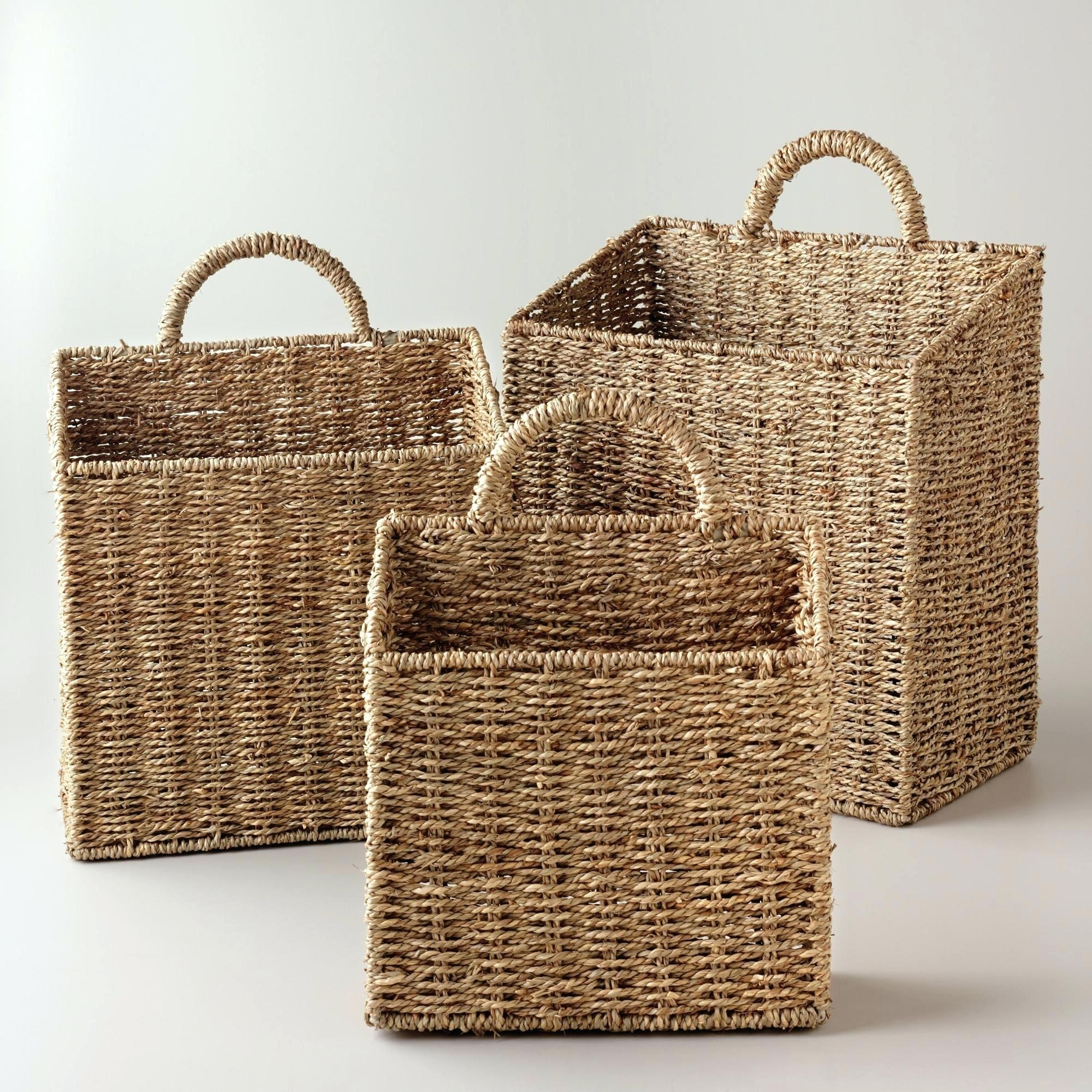 Woven Basket Wall Art Regarding Well Known Wicker Wall Art Wicker Wall Baskets La Rattan Wall Basket Large (View 15 of 15)