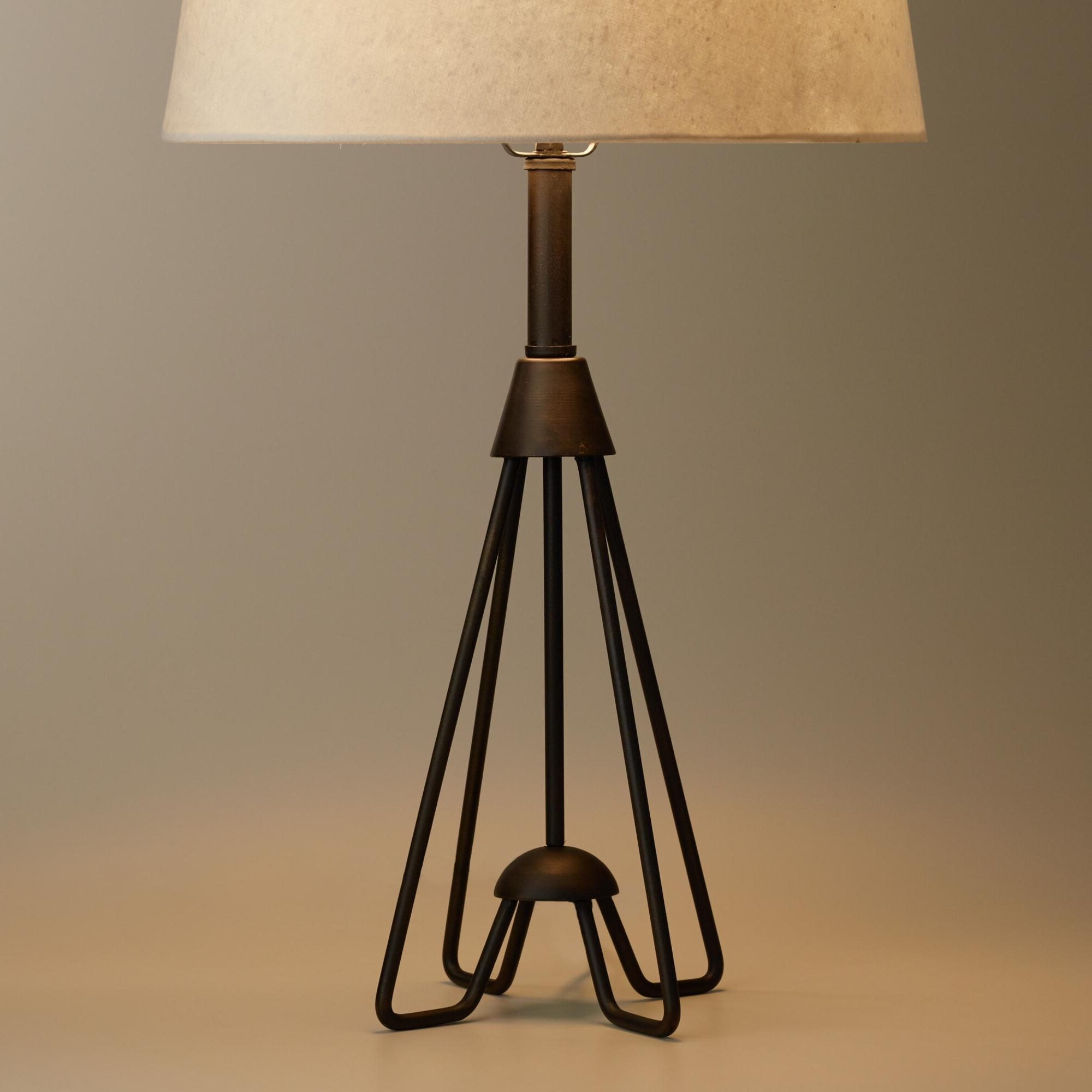 Wrought Iron Living Room Table Lamps With Fashionable Lamp : Wrought Iron Table Lamps For Living Room Antique Black Rod (Gallery 5 of 15)